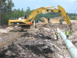 BKW, Inc. on site with major pipeline