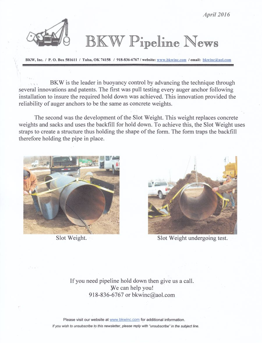 REPORT ANALYSIS OF PIPELINE EXPOSURE DATA AND SCOPING REVIEW OF