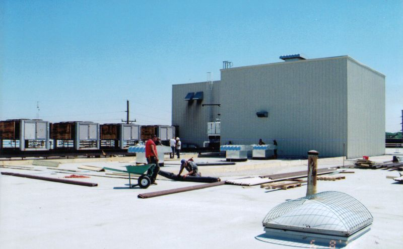 Roof Raising System For Expanded Work Area Of Industrial Buildings By Bkw Inc Tulsa Ok